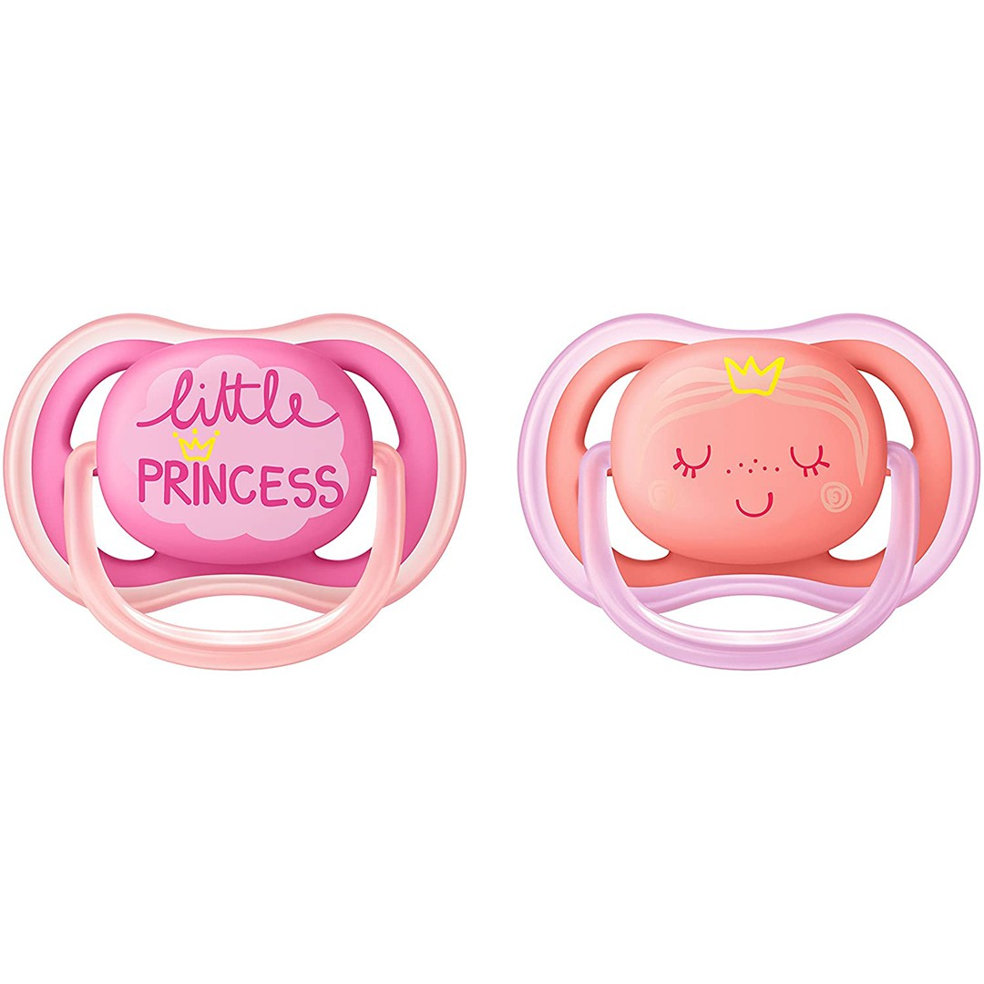 Avent Succhietto Ultra Air 6-18m Femmina Princess