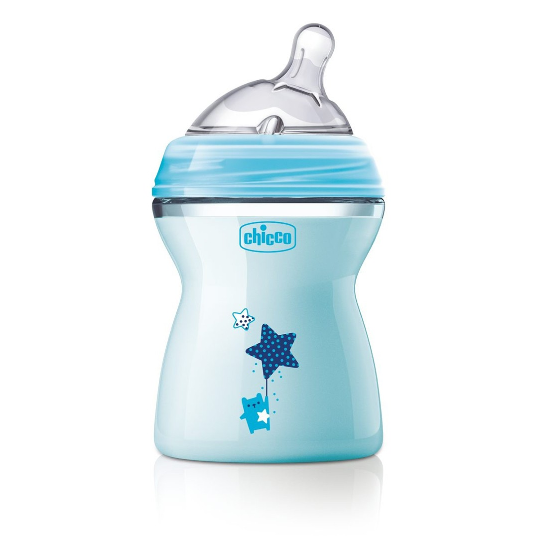 Chicco Biberon 2m+ 250 ml bimbo NATURAL FEELING