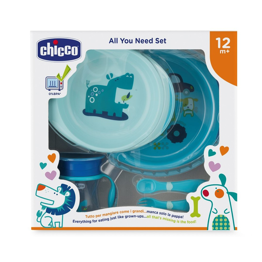 Chicco Set Pappa 12m+ bimbo