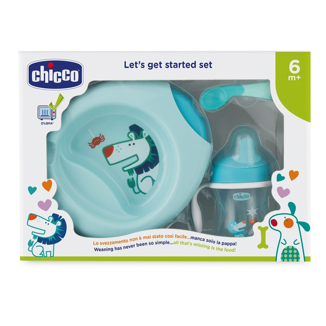 Chicco Set Pappa 6m+ bimbo
