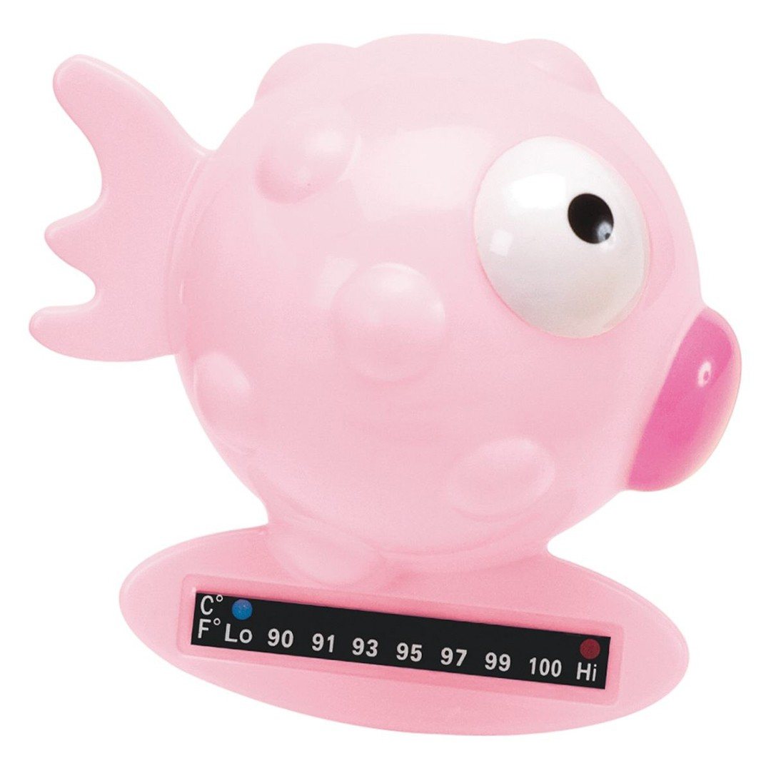 Termometro da bagno rosa
