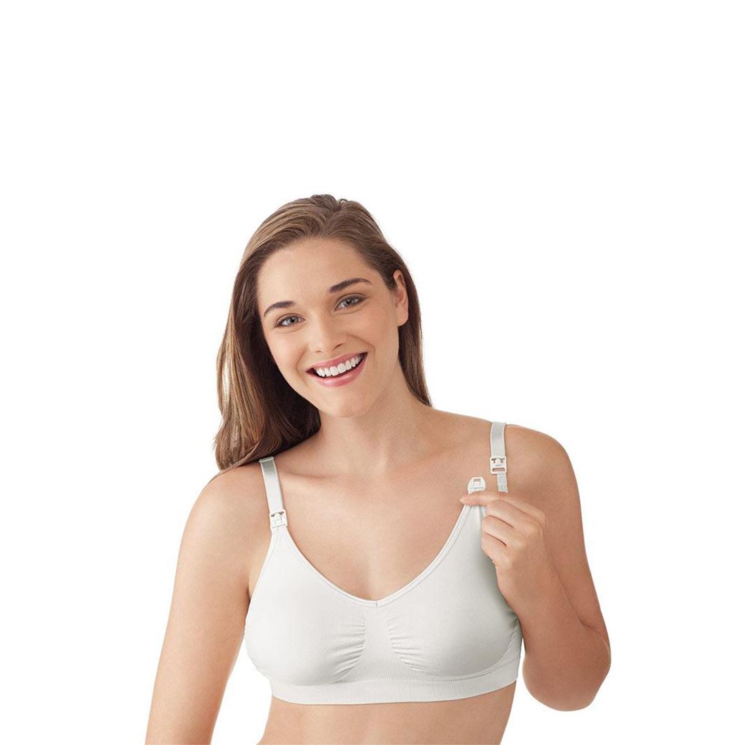 Medela Reggiseno Gravidanza e Allattamento Bianco