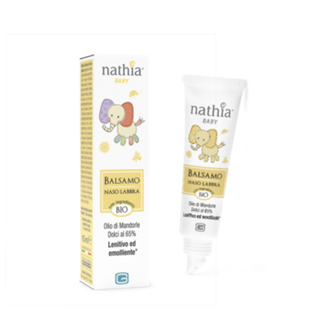Nathia Balsamo Labbra Naso 15ml
