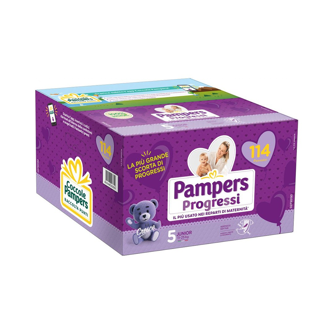 Pampers Progressi taglia 5
