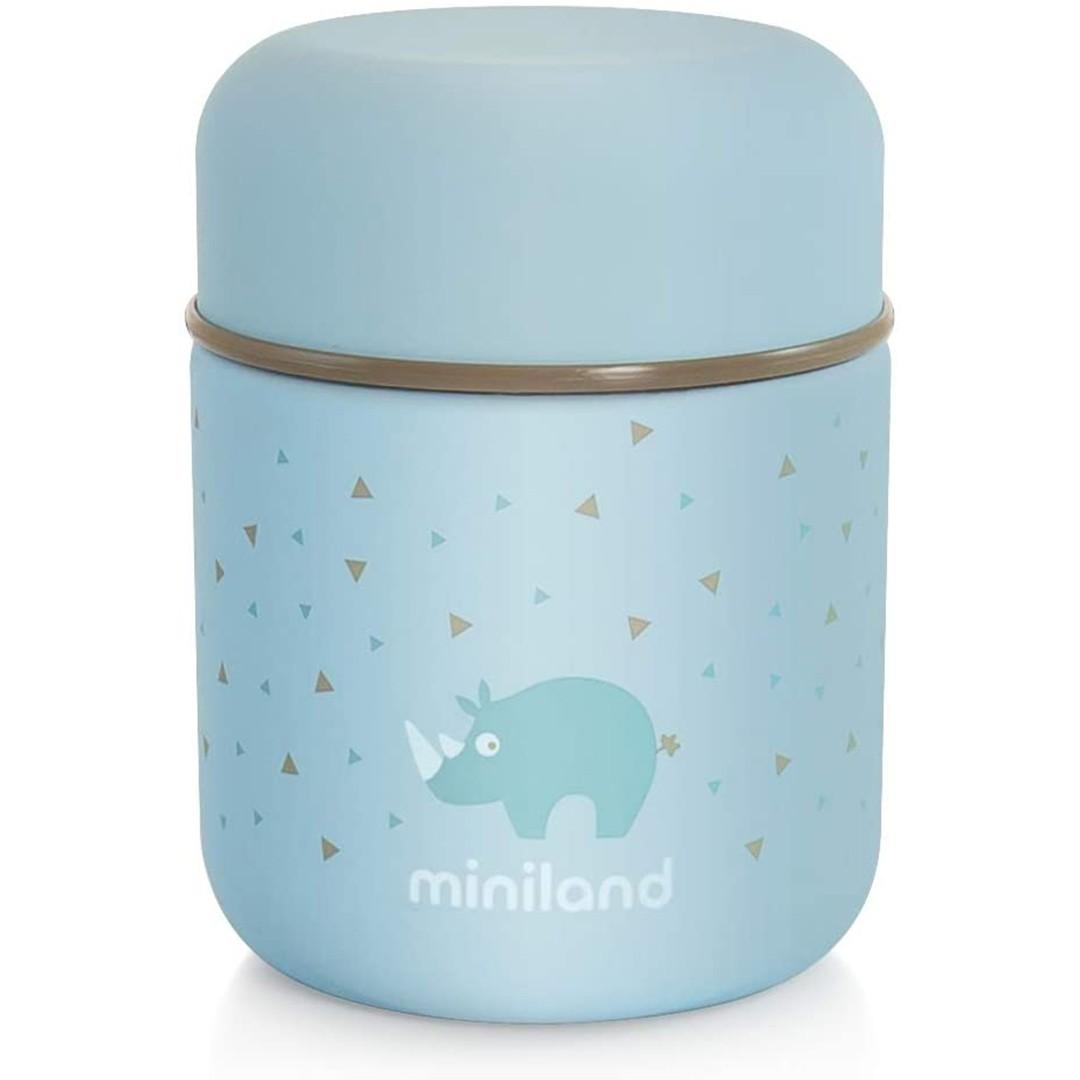 Miniland Silky Food Thermos Azzurro