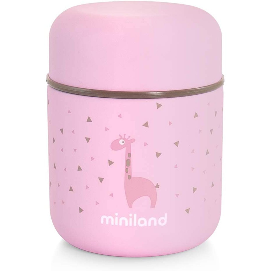 Miniland Silky Food Thermos Rosa