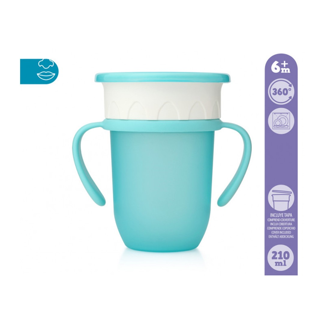 Kiokids Tazza Step3 Blu 210ml