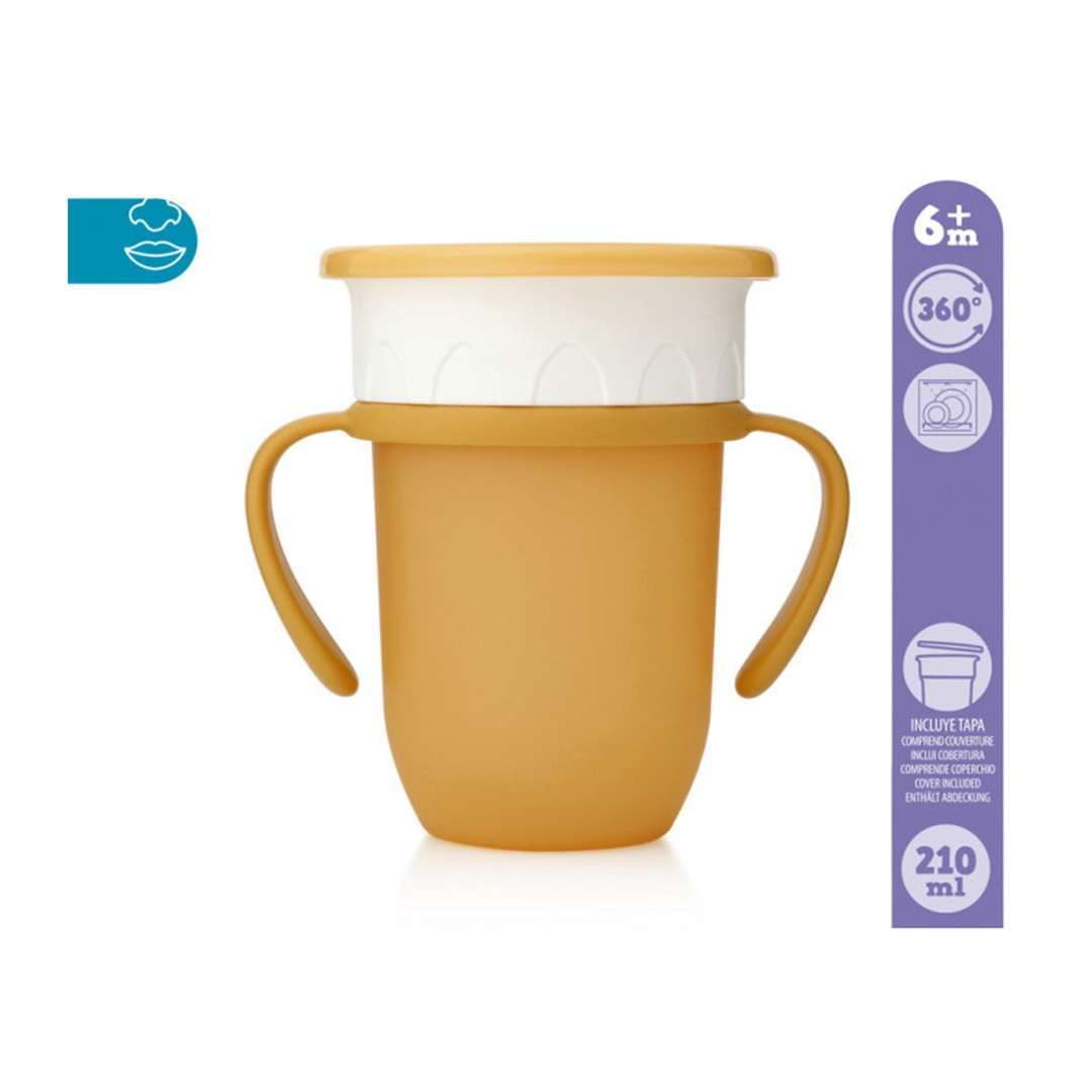 Kiokids Tazza Step3 Senape 210ml