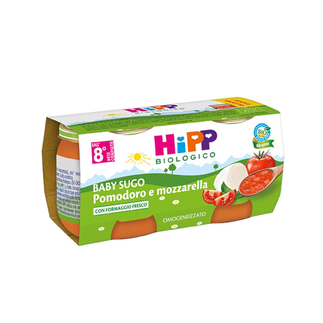 Hipp Baby Sughi Pomodoro e Mozzarella 2x80g
