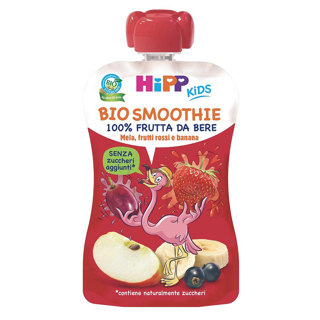 Hipp Bio Smoothies Mela Frutti Rossi Banana 120ml