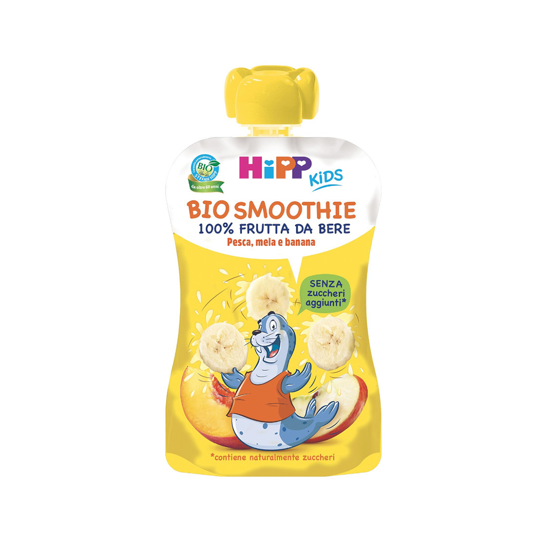Hipp Bio Smoothies Pesca Mela Banana 120ml