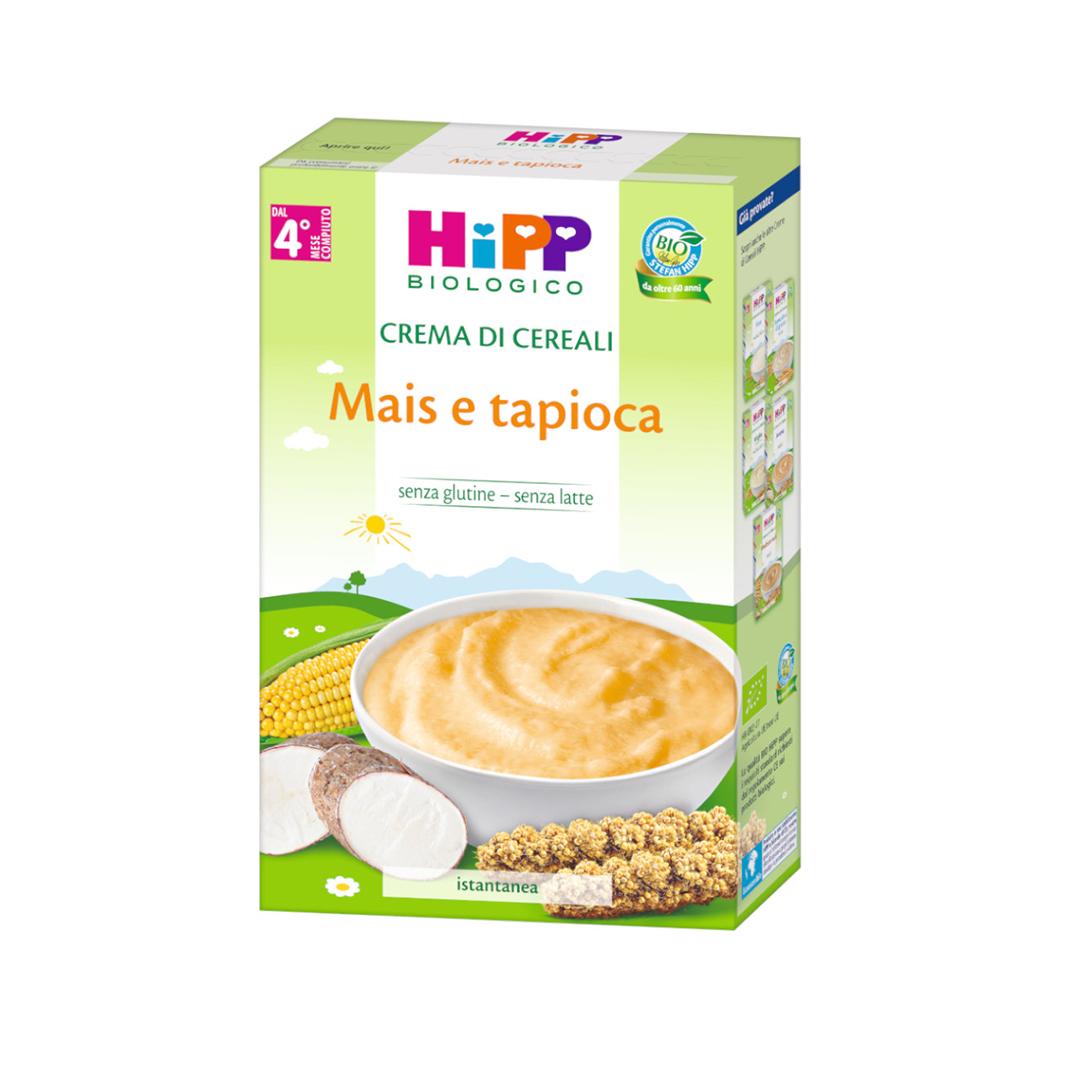 Hipp Creme di Cereali Mais e Tapioca 200g