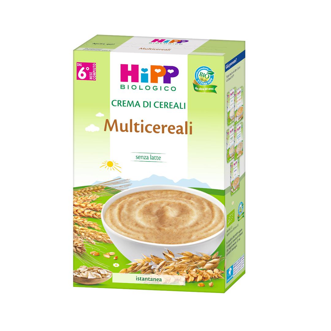Hipp Creme di Cereali Multicereali 200g