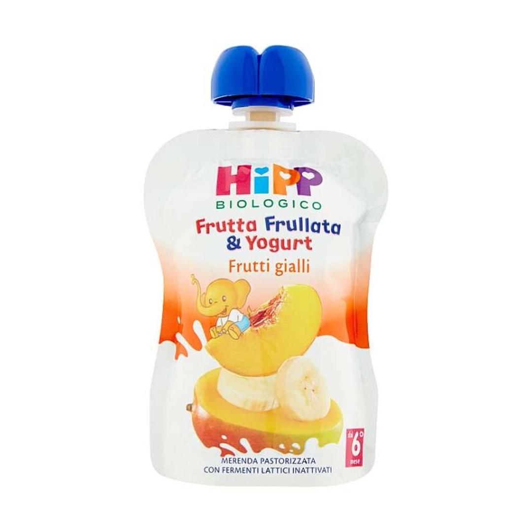 Hipp Frutta Frullata Frutti Gialli Yogurt 90g