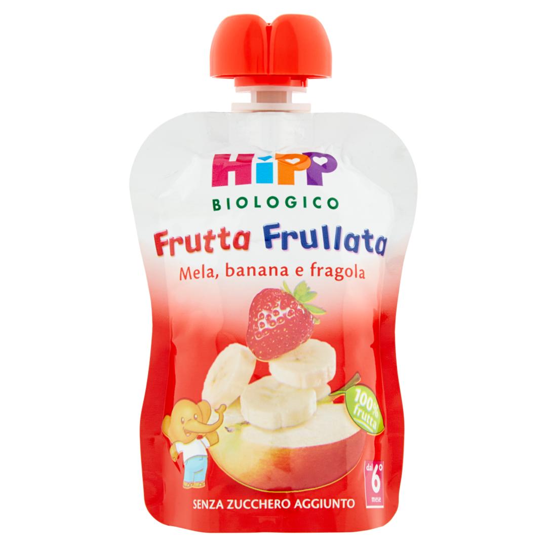 Hipp Frutta Frullata Mela Banana Fragola 90g