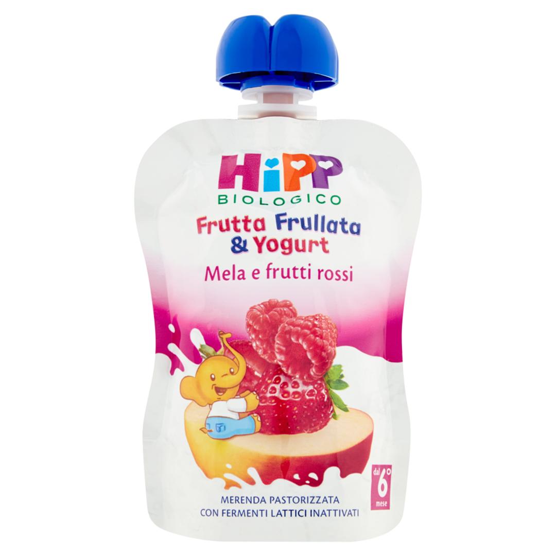 Hipp Frutta Frullata Mela Frutti Rossi Yogurt 90g