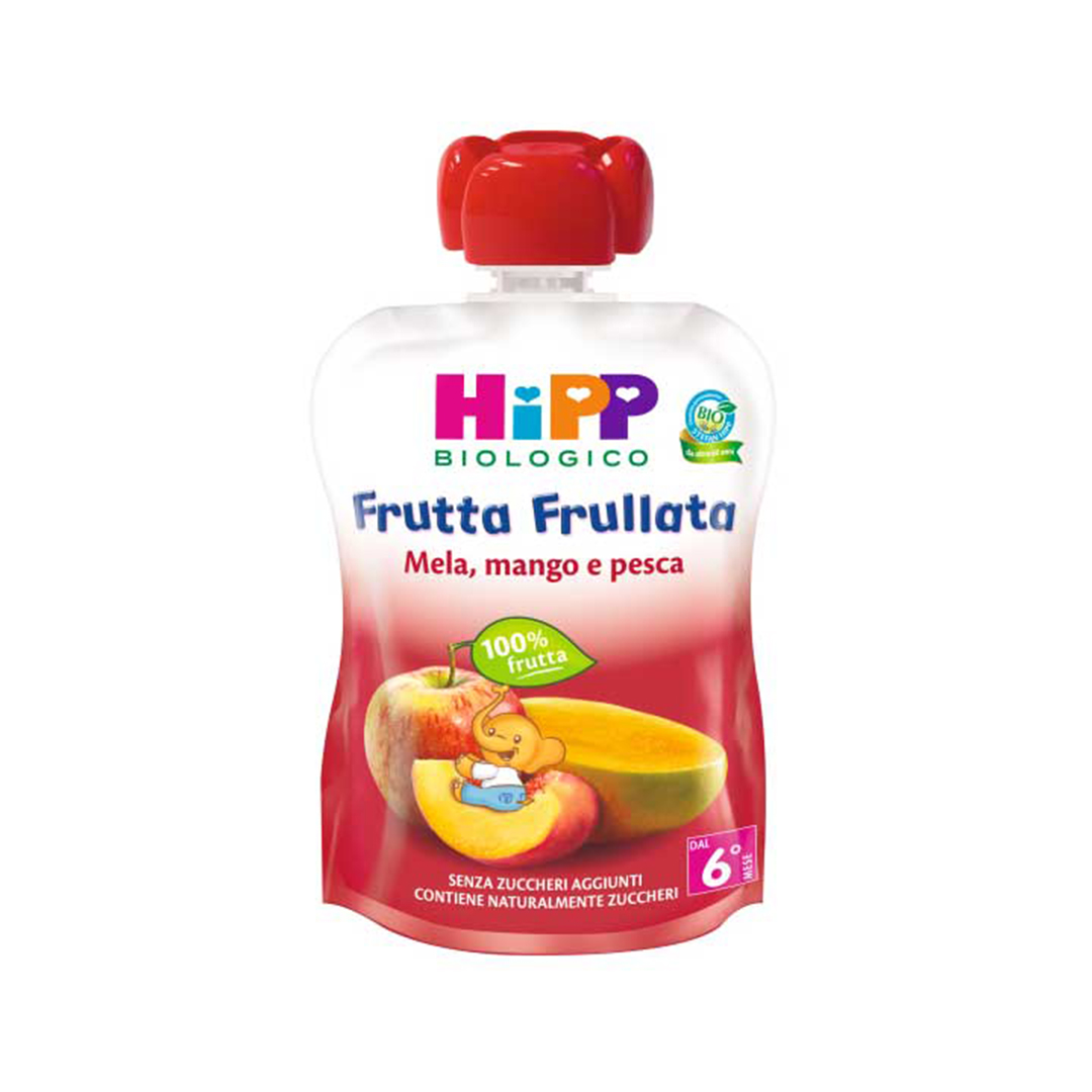 Hipp Frutta Frullata Mela Mango Pesca 90g