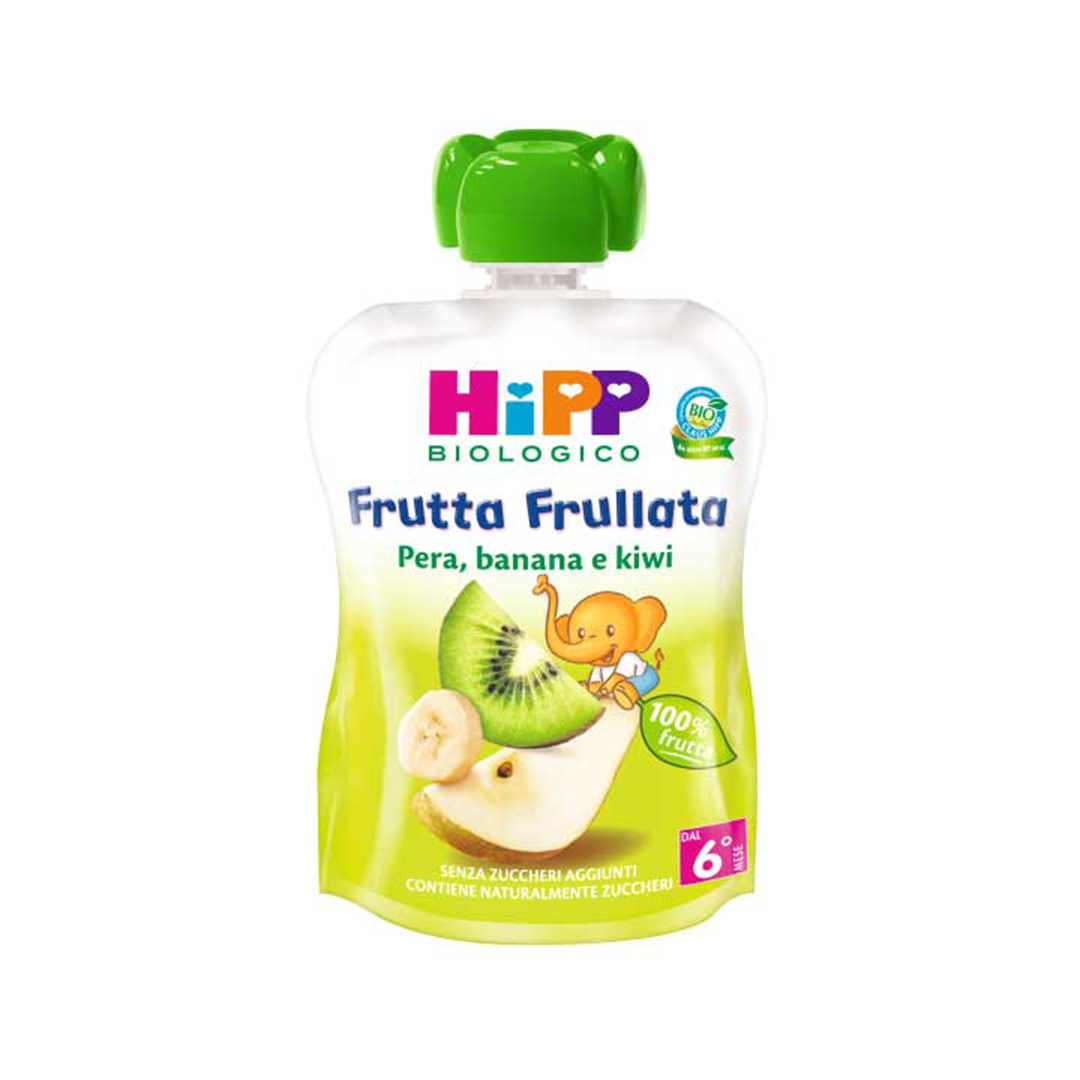 Hipp Frutta Frullata Pera Banana Kiwi 90g