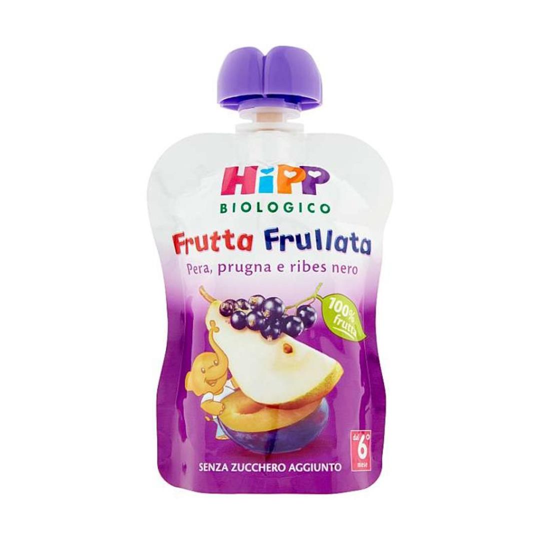 Hipp Frutta Frullata Pera Prugna Ribes nero 90g