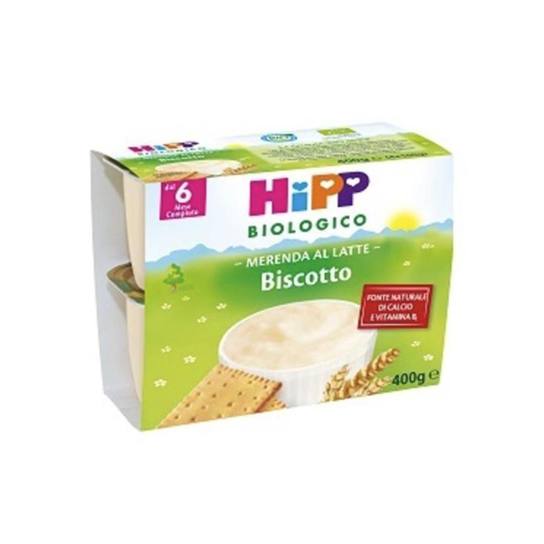 Hipp Merenda al Latte Biscotto 4x100g