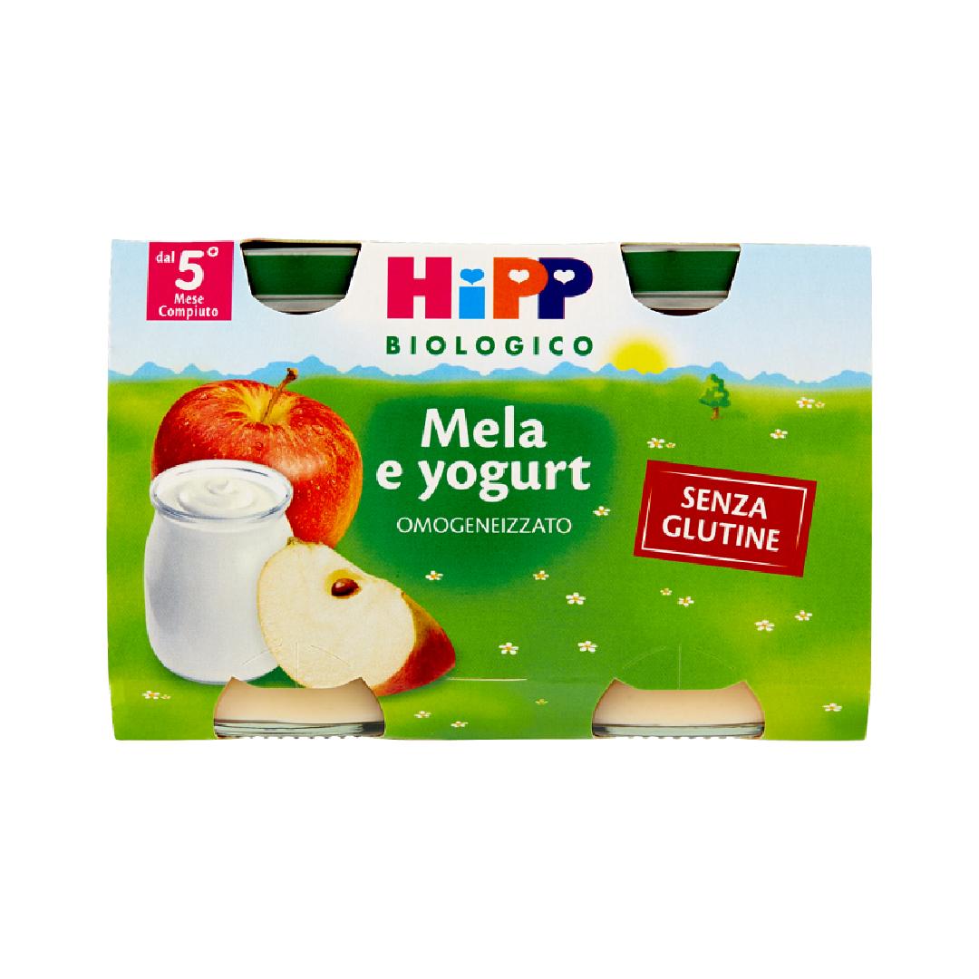 Hipp Merende di Frutta Mela Yogurt 2x125g