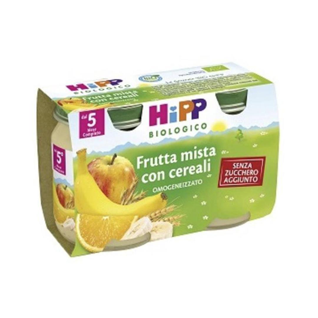 Hipp Merende di Frutta Mista con Cereali 2x125g