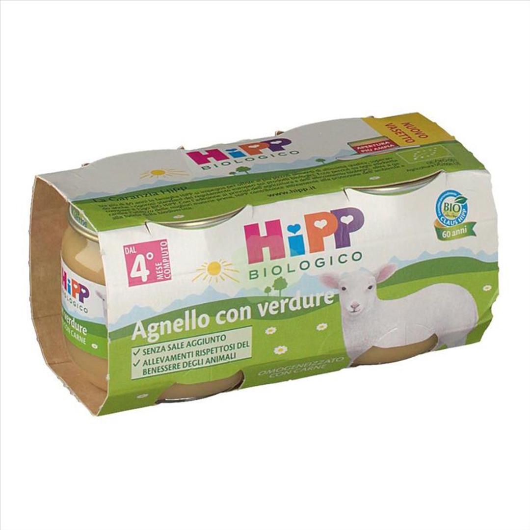 Hipp Omogenizzati Carne Agnello con verdure 2x80g