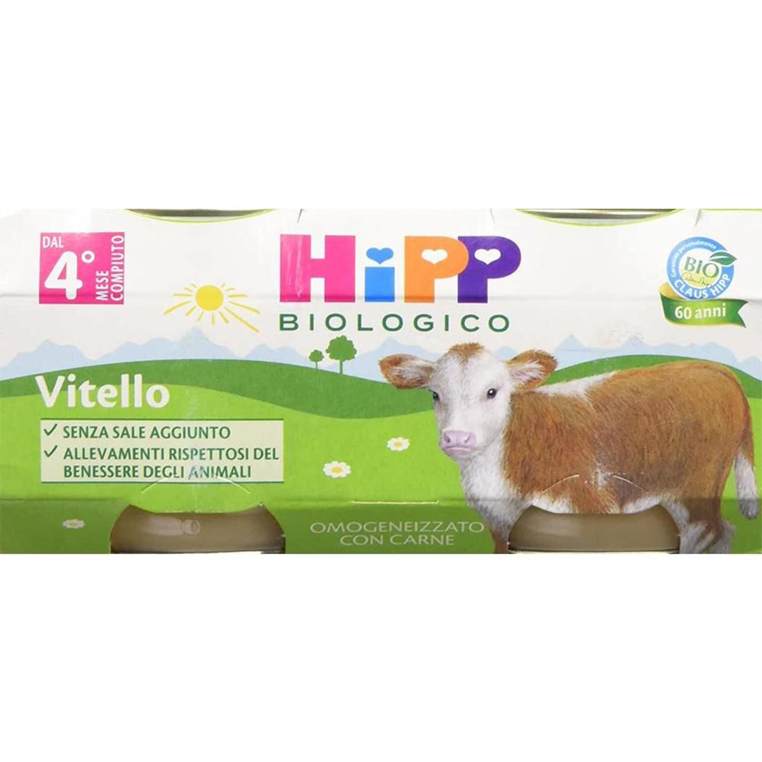 Hipp Omogenizzati Carne Vitello 2x80g