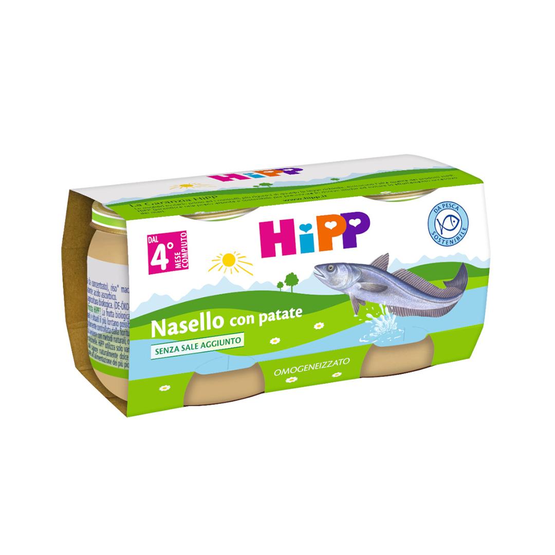 Hipp Omogenizzati Pesce Nasello con patate 2x80g