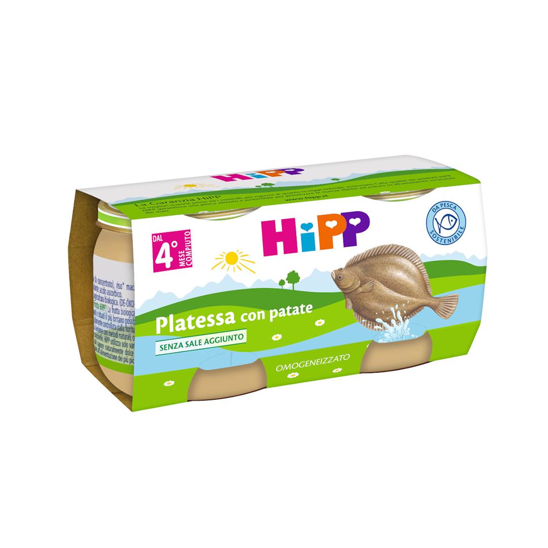 Hipp Omogenizzati Pesce Platessa con patate 2x80g