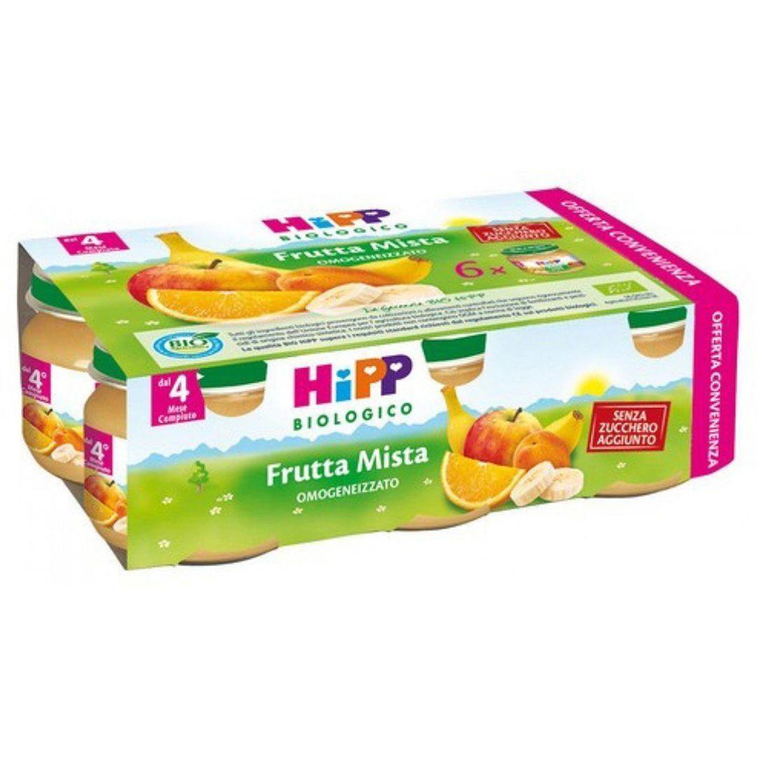 Hipp Omogenizzato Bio Frutta Mista 6x80g