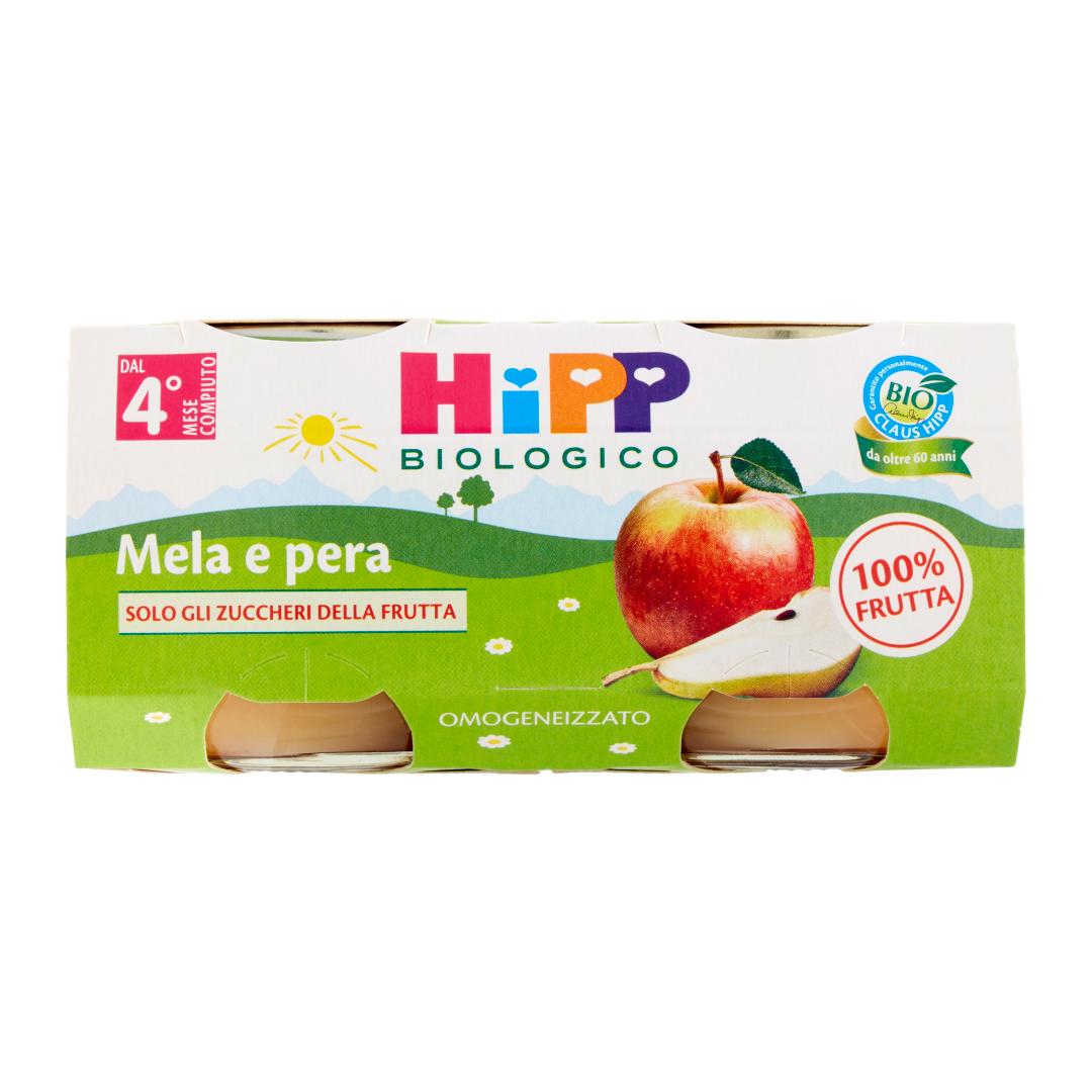 Hipp Omogenizzato Bio Mela Pera 2x80g