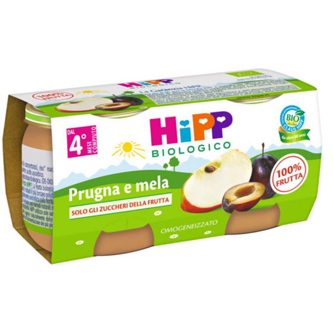 Hipp Omogenizzato Bio Prugna Mela 2x80g
