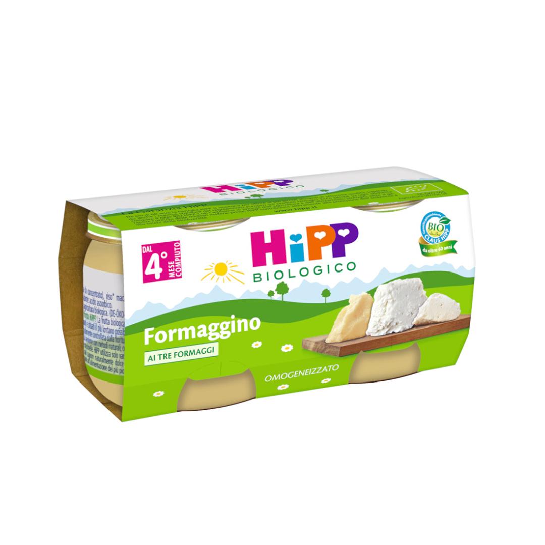 Hipp Omogenizzato Formaggino ai 3 formaggi 2x80g
