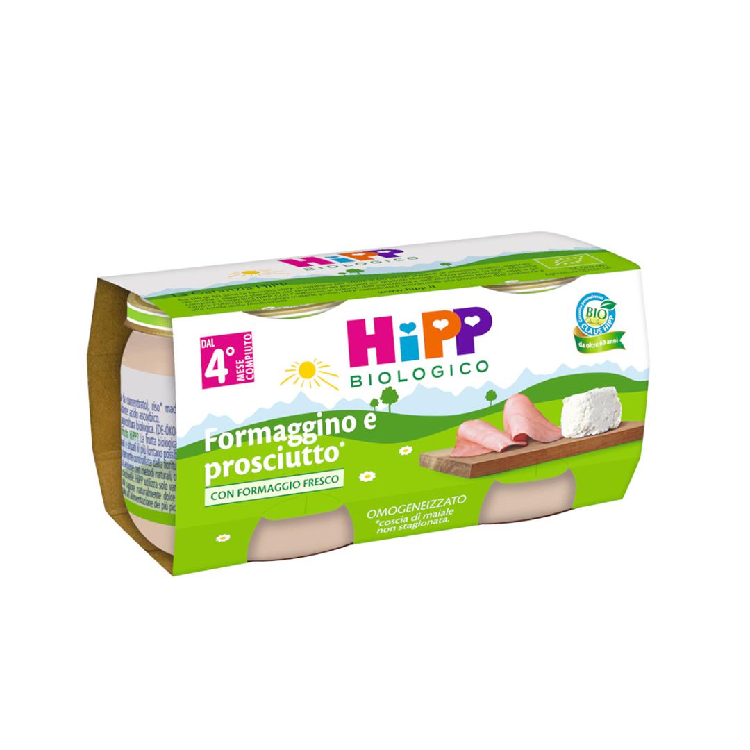 Hipp Omogenizzato Formaggino e Prosciutto 2x80g