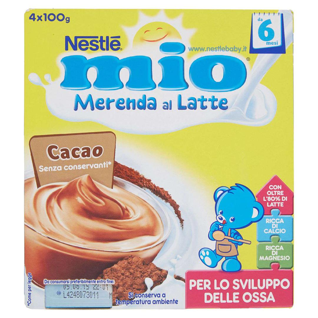 Mio Merenda al Latte Cacao 4x100g
