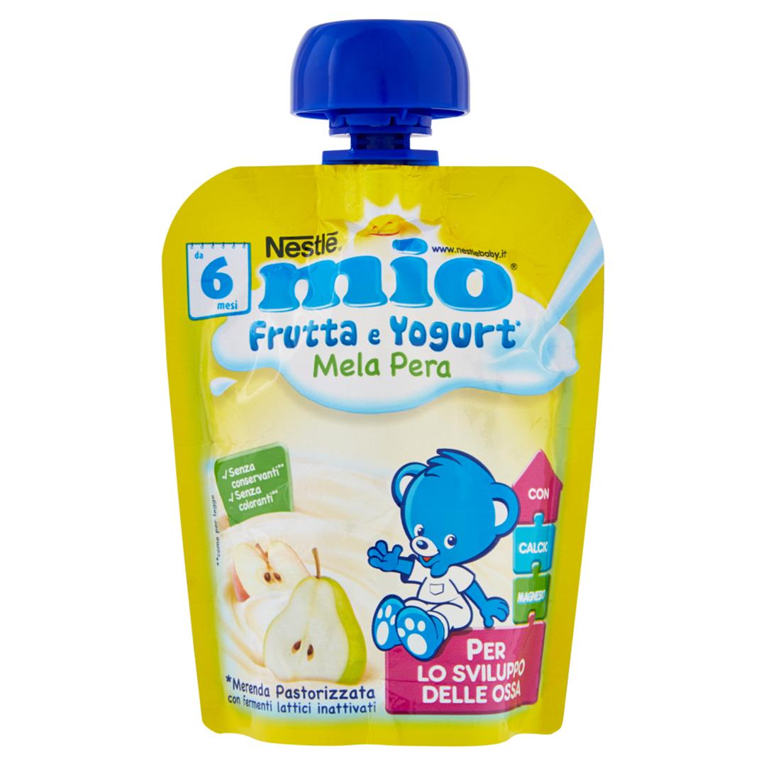 Mio Pouch Frutta & Yogurt Mela Pera 90g