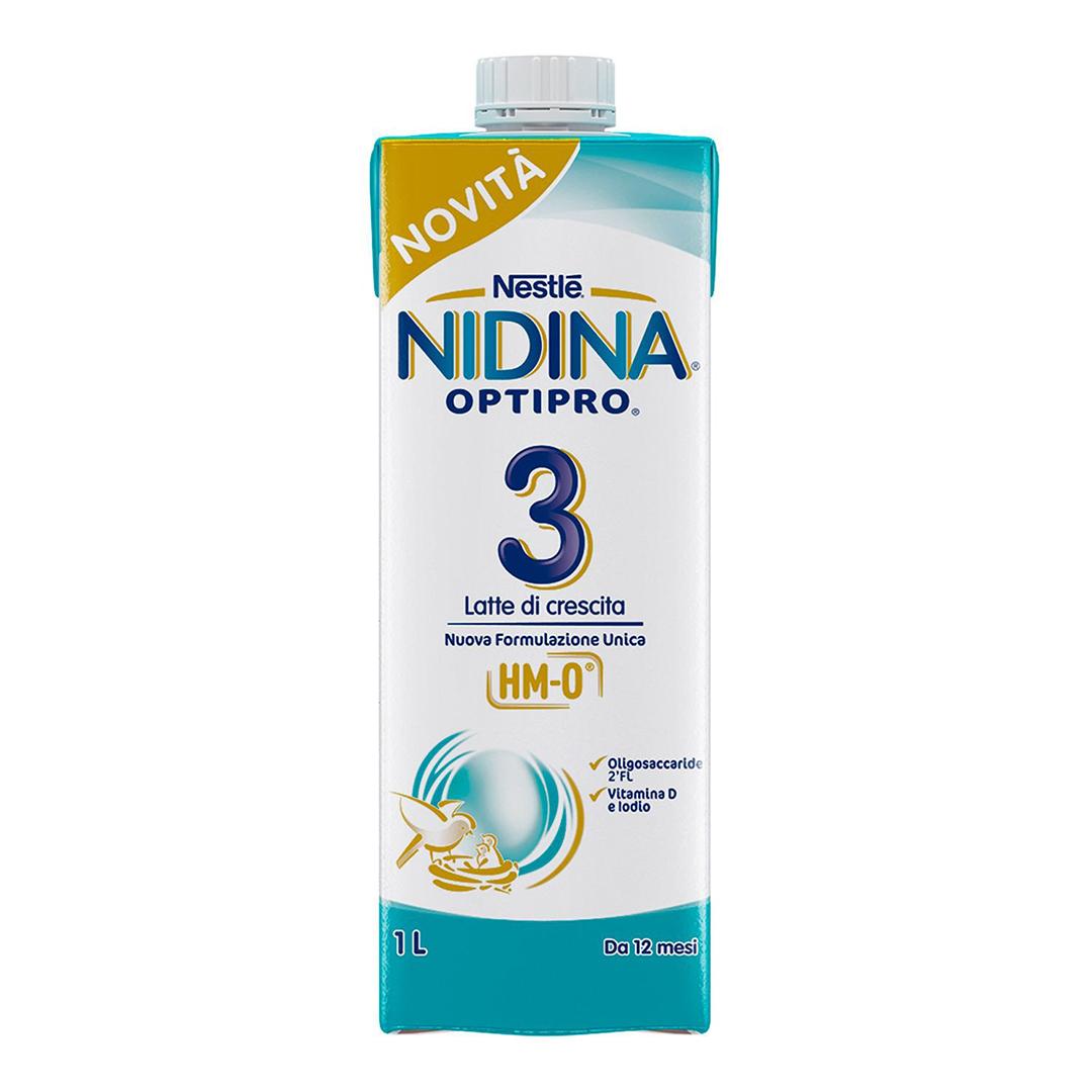 Nidina Latte Liquido Optipro 3 8x1lt