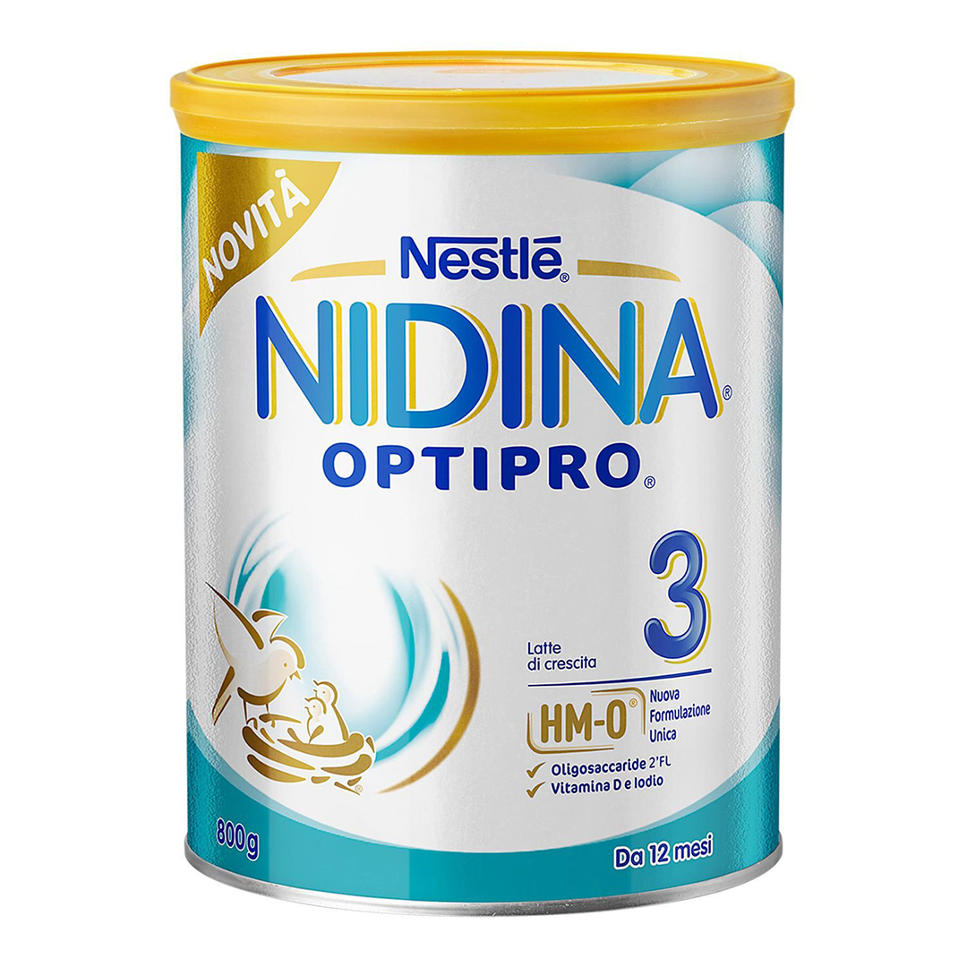 Nidina Latte in Polvere Optipro 3 800g