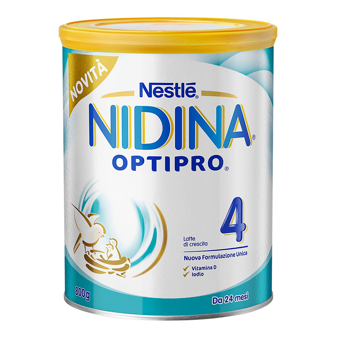 Nidina Latte in Polvere Optipro 4 800g