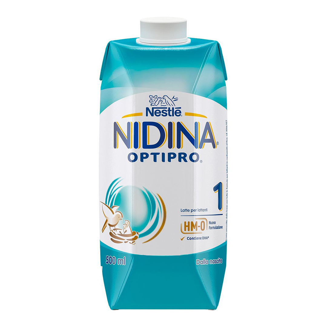 Nidina Latte Liquido Optipro 6x500ml