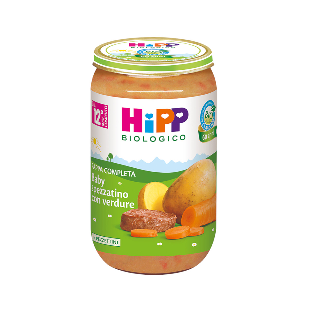 Hipp Pappe Pronte Baby Spezzatino con verdure 250g