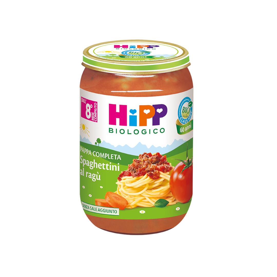 Hipp Pappe Pronte Spaghettini al Ragù 220g