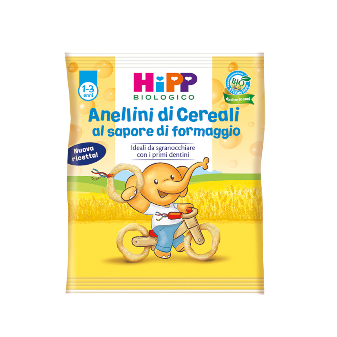 Hipp Snack Anellini di Cereali 25g