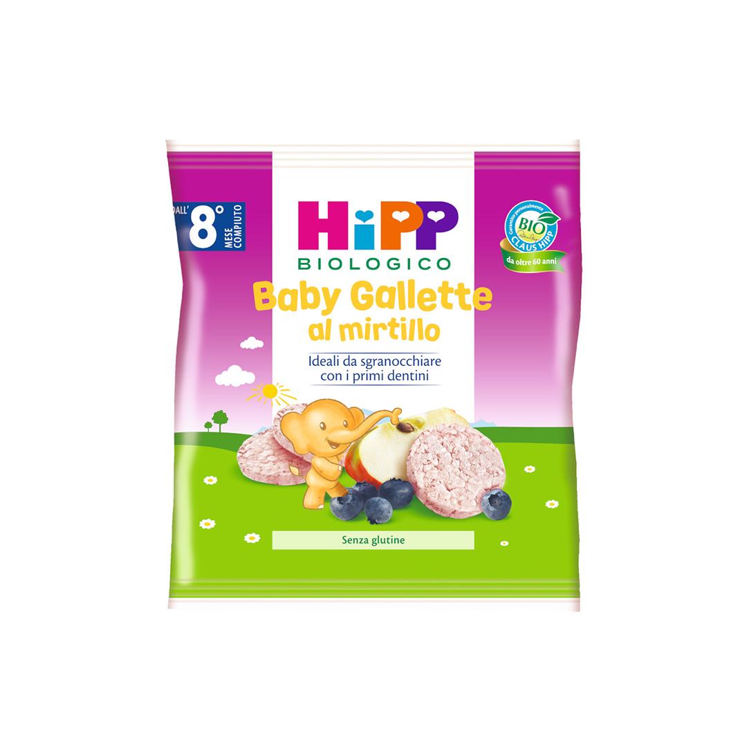 Hipp Snack Baby gallette al mirtillo 30g