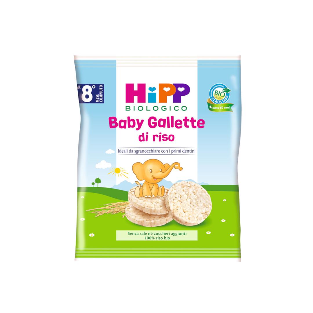 Hipp Snack Baby gallette di riso 35g