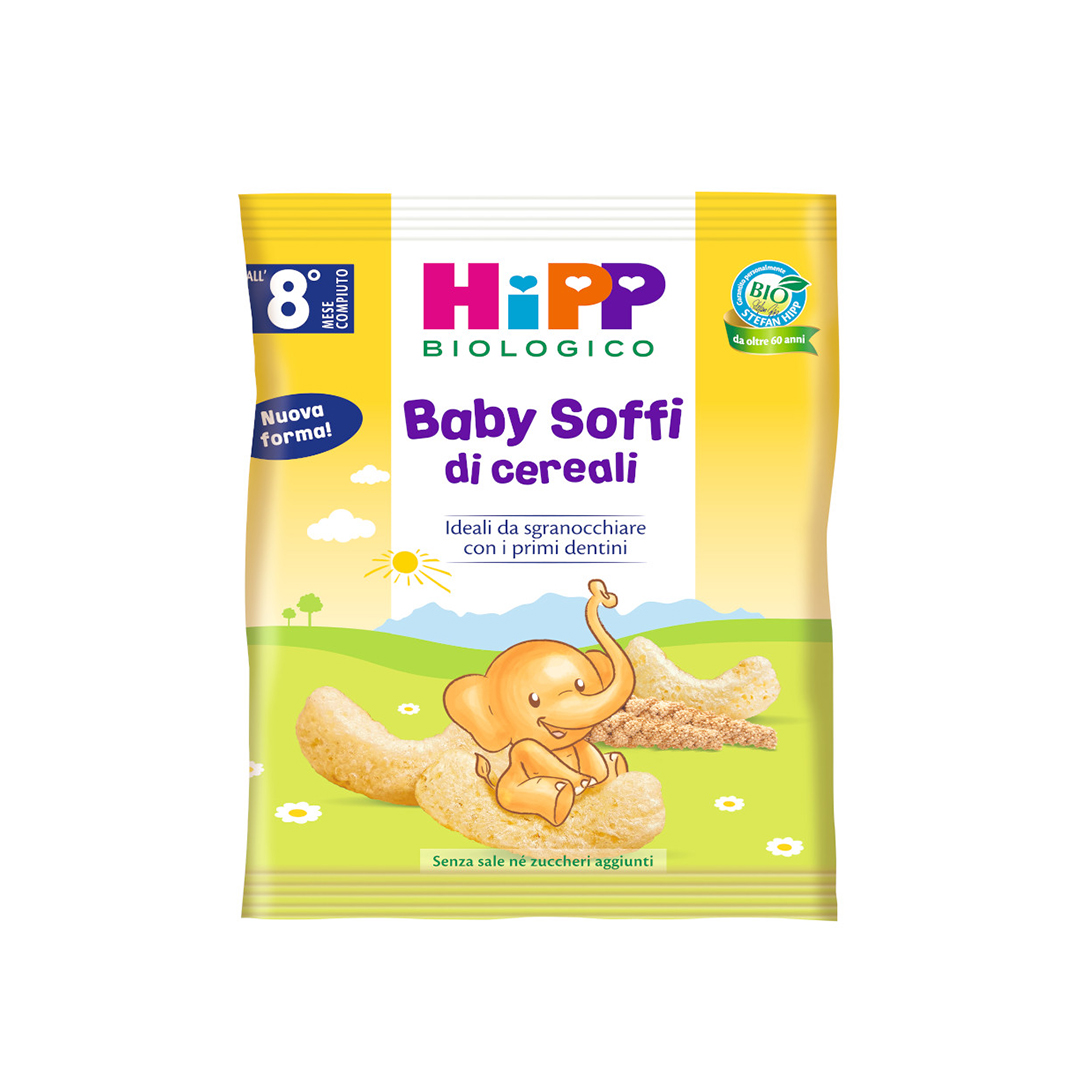 Hipp Snack Baby soffi di cereali 30g