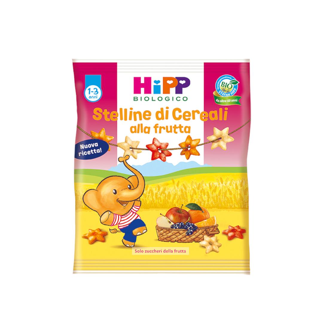 Hipp Snack Stelline di cereali Frutta 30g