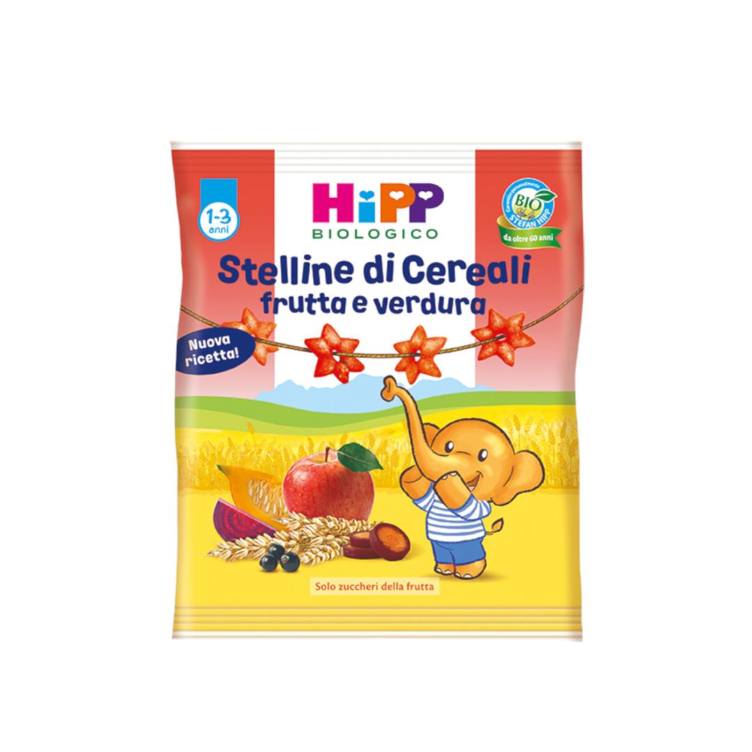 Hipp Snack Stelline di cereali Frutta e Verdura 30g