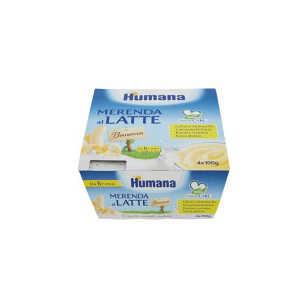 Humana Merenda al Latte Banana
